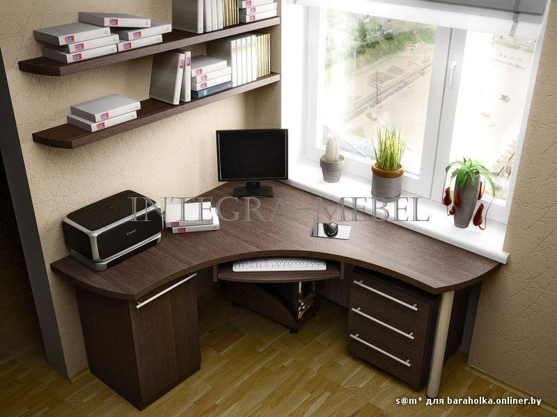 Компьютерные столы на заказ по индивидуальным размерам.