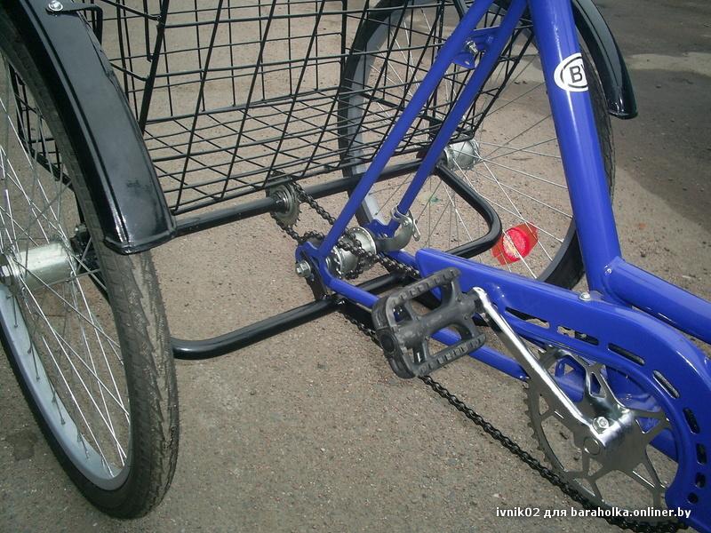 Как сделать трехколесный велосипед своими 9