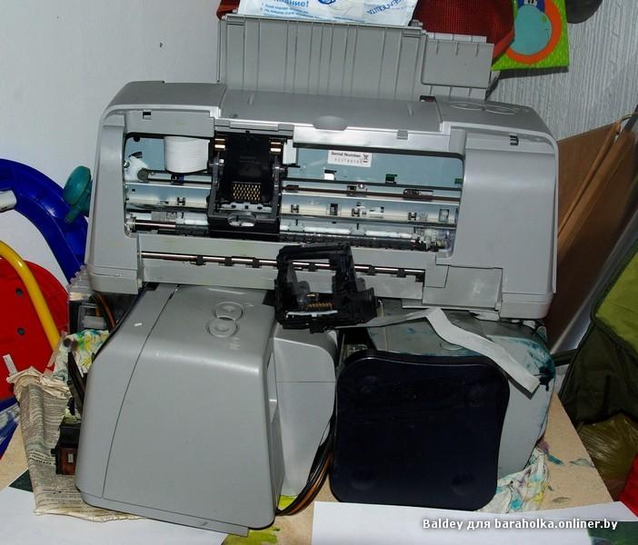 ремонт принтера ip1500 своими руками