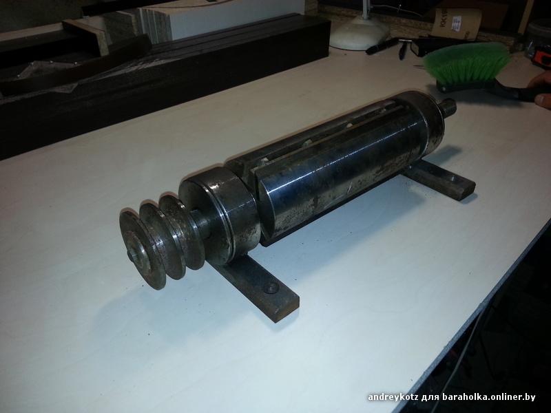 Как закрепить шкив без шпонки - Металлический форум IC93