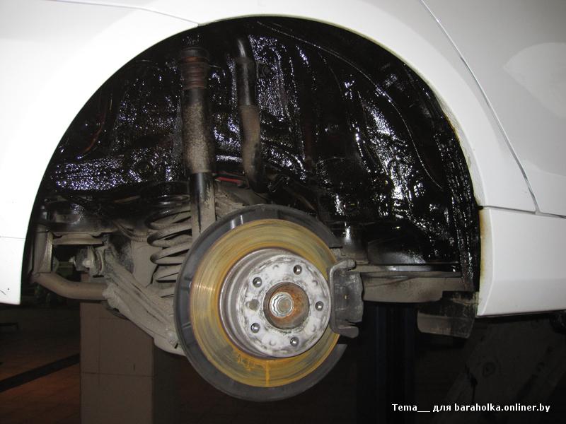 Материалы для обработки арок автомобиля своими руками