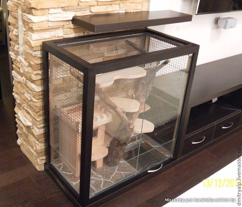 Как сделать витрину для шиншилл в домашних условиях