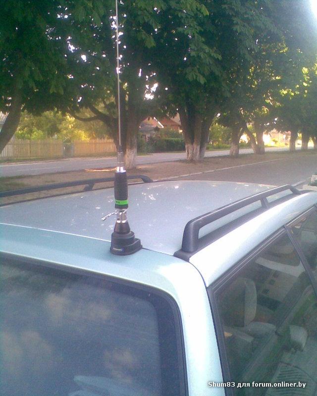 КСВ-метр: Diamond SX-600. автомобиль: VW Passat B3 (универсал).  Мысль продырявить крышу посещала давно, но...