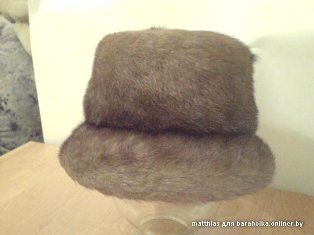 Продаётся шапка норковая фабричного изготовления,56-57р.Состояние новой ,одевалась пару раз.Цена