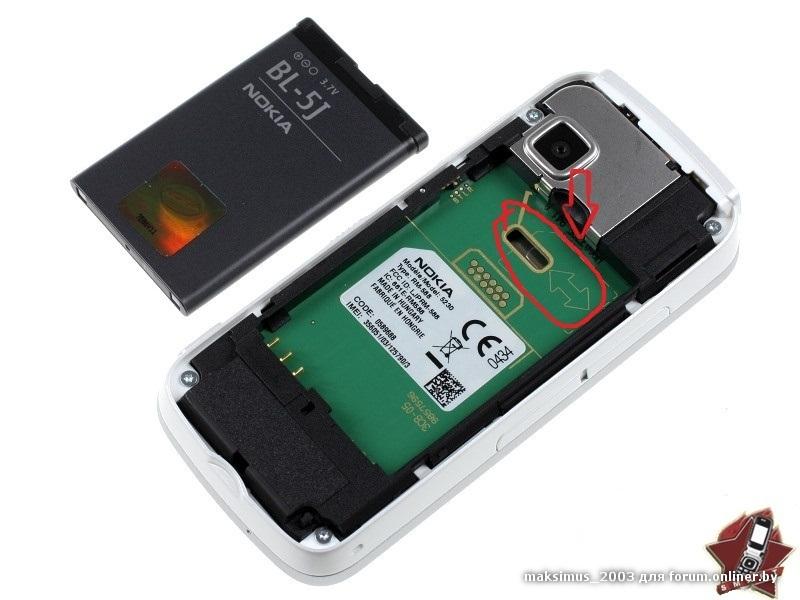 Дизайн и конструкция Nokia 5230 (продолжение) .
