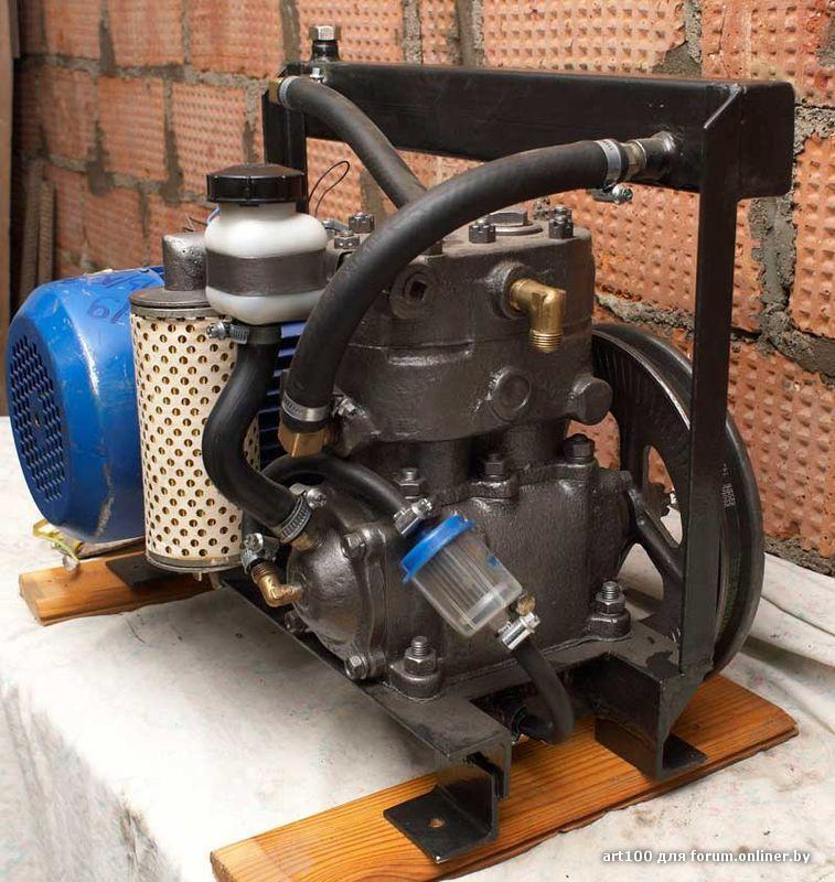 Фильтр для поршневого компрессора своими руками 98