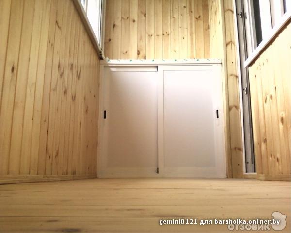 Комплектация балконного шкафа. - дизайн маленьких лоджий - к.