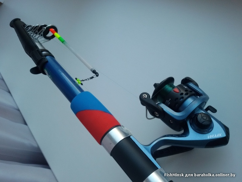 Малогабаритная телескопическая удочка