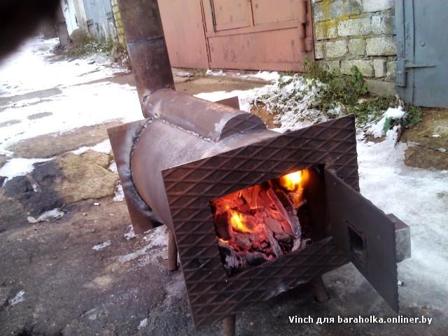 Буржуйки длительного горения на дровах своими руками 141
