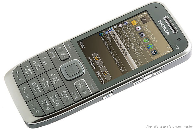 NOMOBILE.RU - Обзор смартфона Nokia E52.