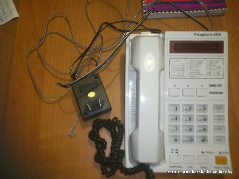 Инструкция К Телефону Panaphone-Аон