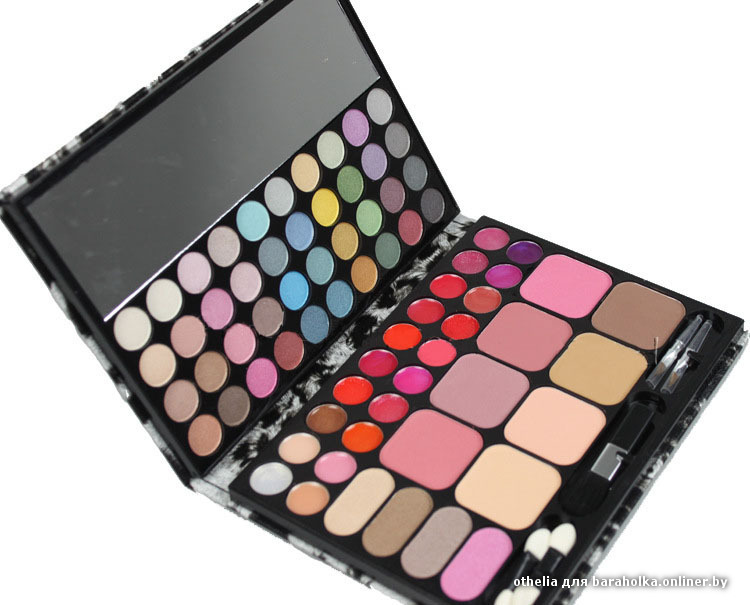 72 master makeup set - eyeshadow+lip gloss+blusher - eye make up eyeshadow - cosmetics.