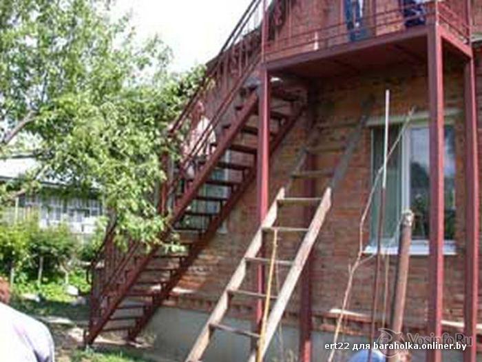 Как построить лестницу на улице своими руками