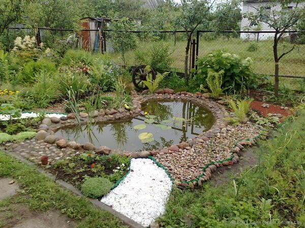 Как из огорода сделать пруд 340