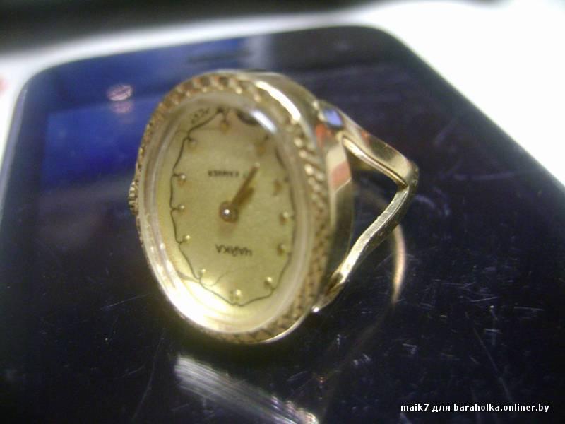 часы золотые мужские полёт