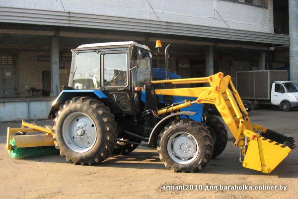 Аренда трактора МТЗ 82, цена в Москве и области