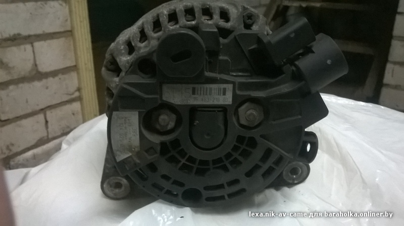 peugeot 406 2.0hdi генератор