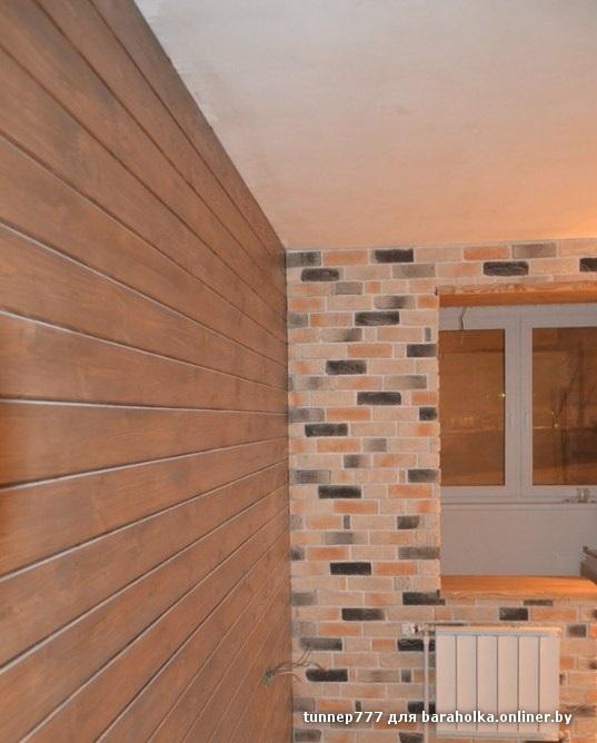Чем отделать стены на балконе дешево и красиво.