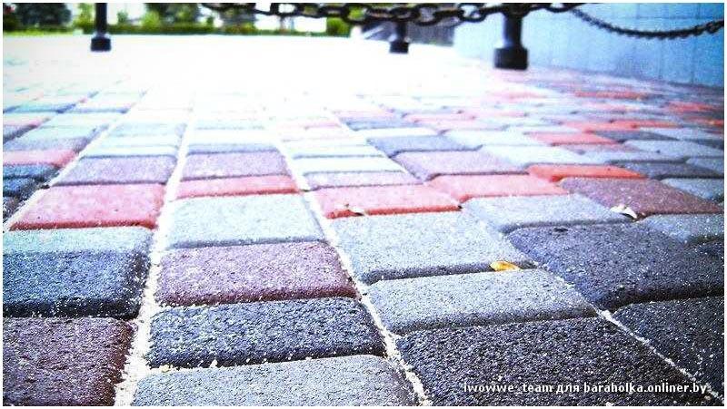 Распродажа тротуарной плитки от производителя. + ДОСТАВКА - Барахолка onliner.by