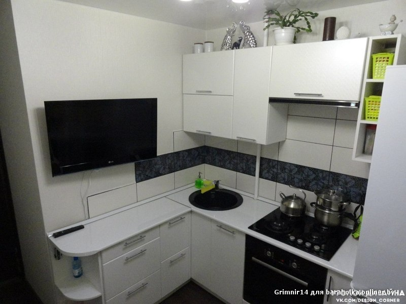 Идеи дизайна кухни 9 кв фото