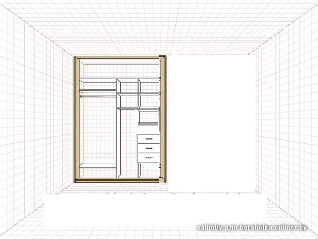 Шкаф купе 1.5 метра фото