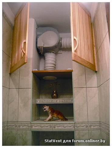 Как сделать вытяжку в туалете правильно