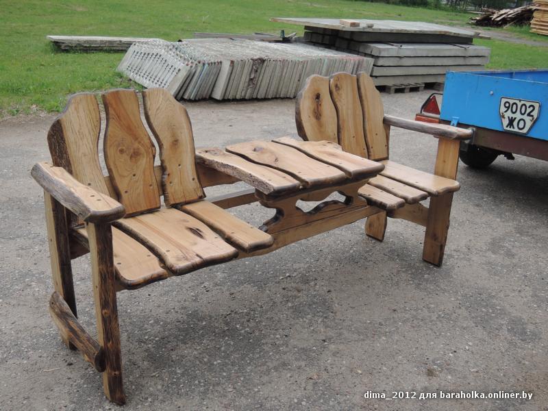 Столик со скамейками своими руками 275