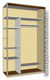 Шкафы-купе со скидкой 37% + короб для натяжного потолка в по.