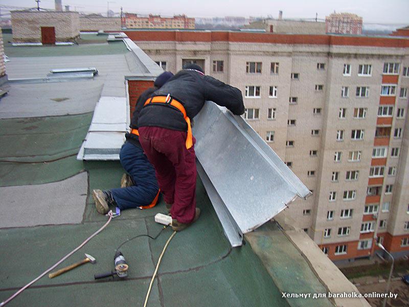Парапет крыши фото