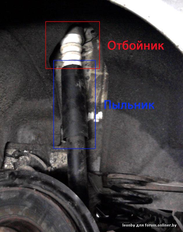 Замена заднего амортизатора на поло седан своими руками