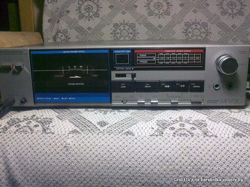 инструкция магнитофона мп7210