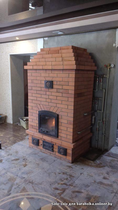 Печь со встроенным теплообменником видео устройство теплообменник на дымоход