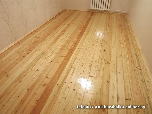 Шлифуем деревянный пол своими руками - Альтаир и К