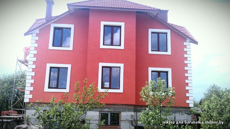 Утепление и обшивка фасада дома