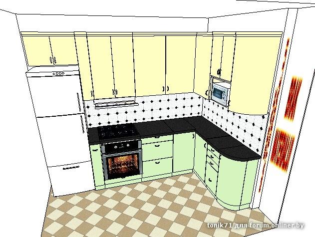 Как сделать рисунки на кухне 29