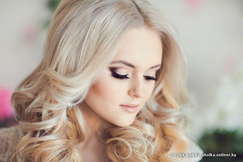 Свадебный макияж блондинкам