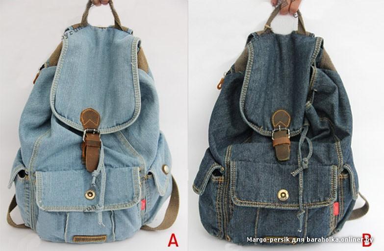 Фото рюкзаки из джинс