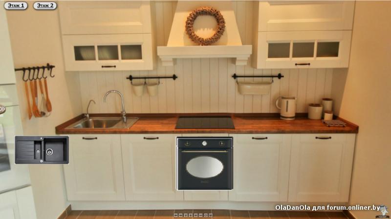 Белая кухня с белой духовкой фото