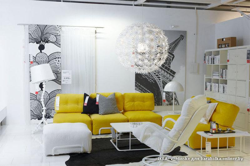 Дизайн от икеа в квартирах