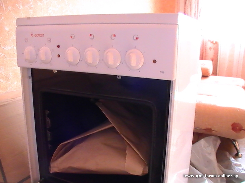 gefest 2160 плита инструкция
