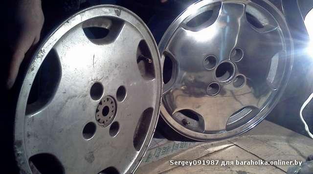 Полировка дисков автомобиля своими руками