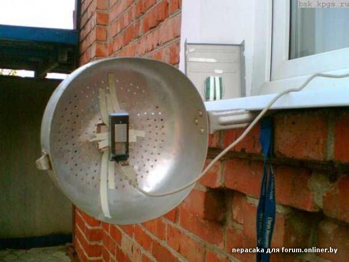 Усилители сигнала для интернета своими руками 97