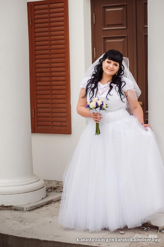 Свадебные платья размер 52-54