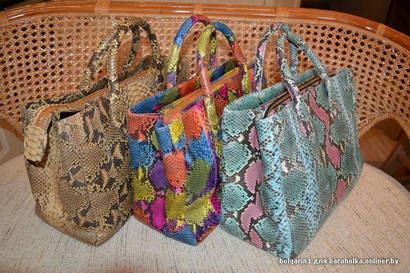 СУМКИ ИЗ КОЖИ ЗМЕИ, мужские и женские сумочки из