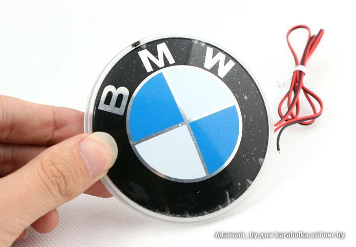 значок bmw на капот: