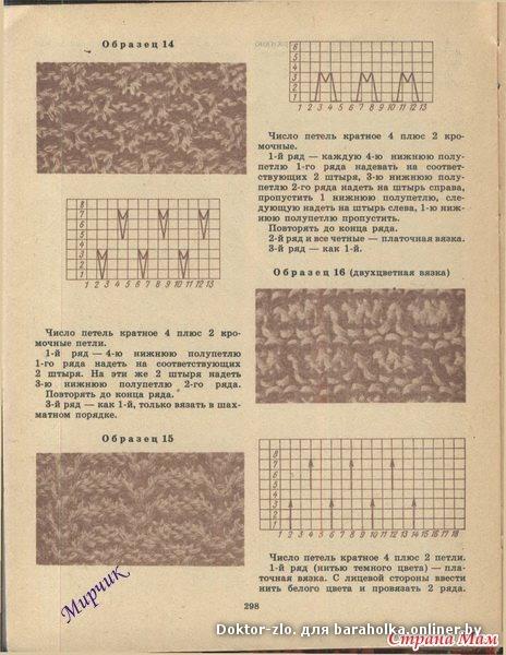 Техника вязания на аппарате «Буковинка» и основные узоры - Страна Мам
