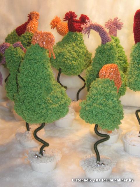 Танцующая елка своими руками