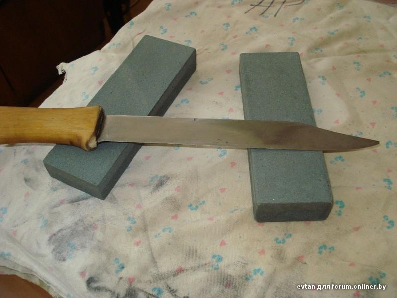 Какой наждачкой точить ножи
