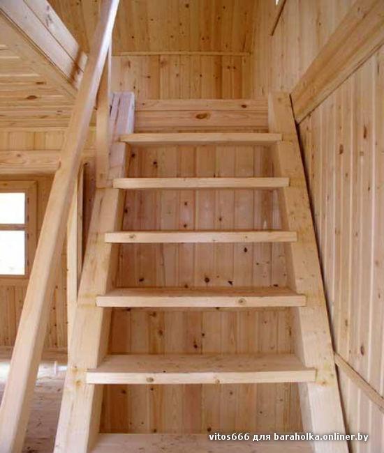 Сделать деревянную лестницу на второй этаж своими руками
