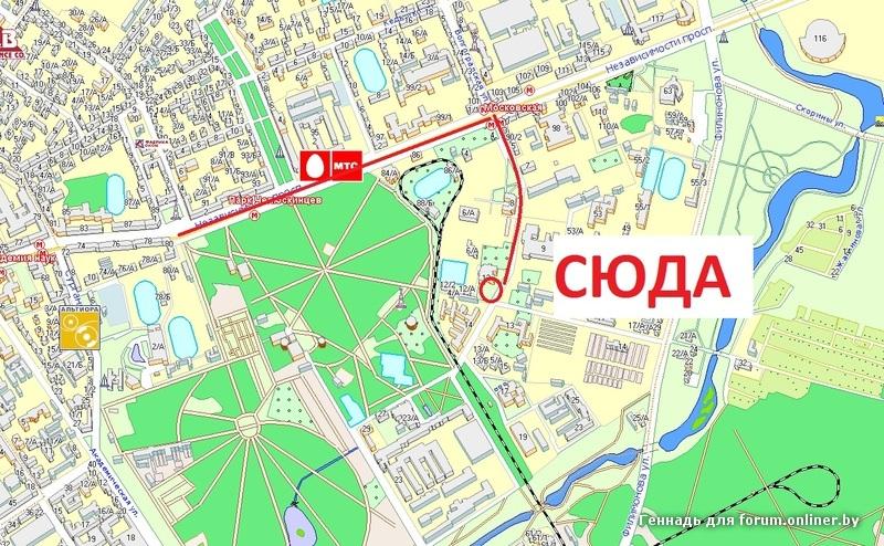 карта минска макаенка 17